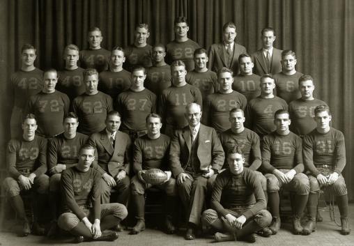 1933 Michigan Football Team | bigbluefootballhistory.com