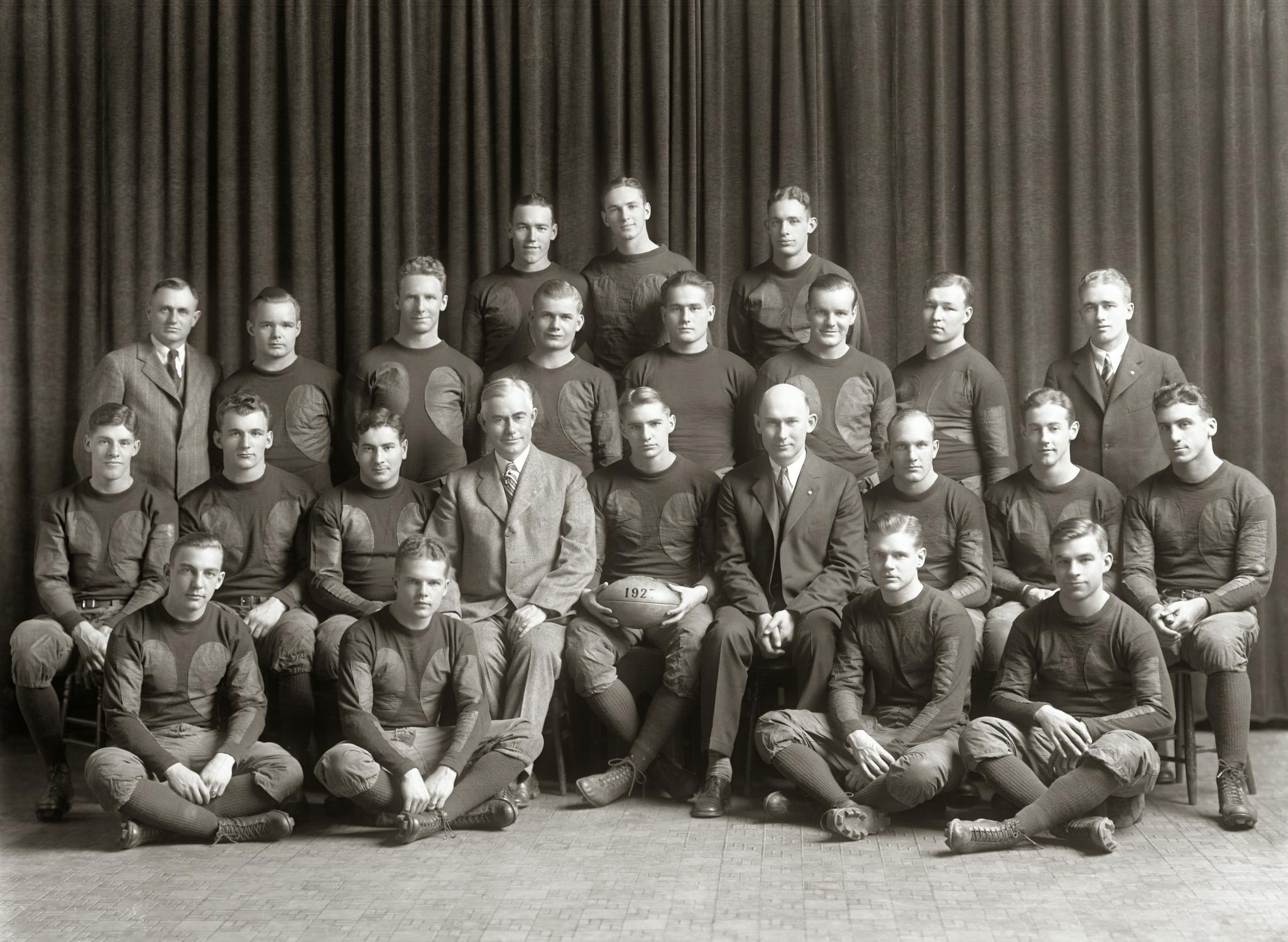 1927 Michigan Football Team | bigbluefootballhistory.com