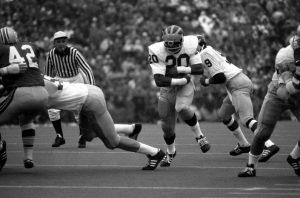 Harry Banks Michigan Football 1974| gobluefootballhistory.com